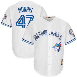 Toronto Blue Jays Jack Morris #47 White Jersey